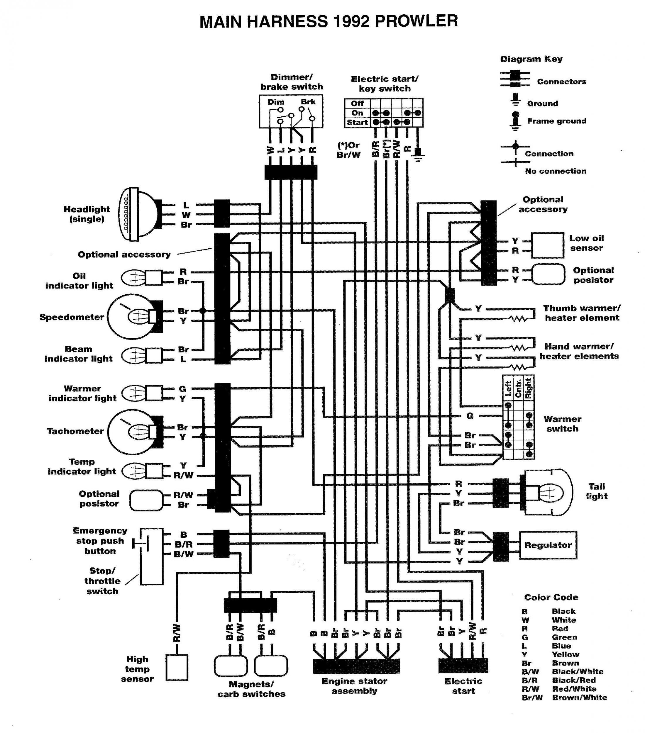 27 98 Honda 300ex Wiring Diagram