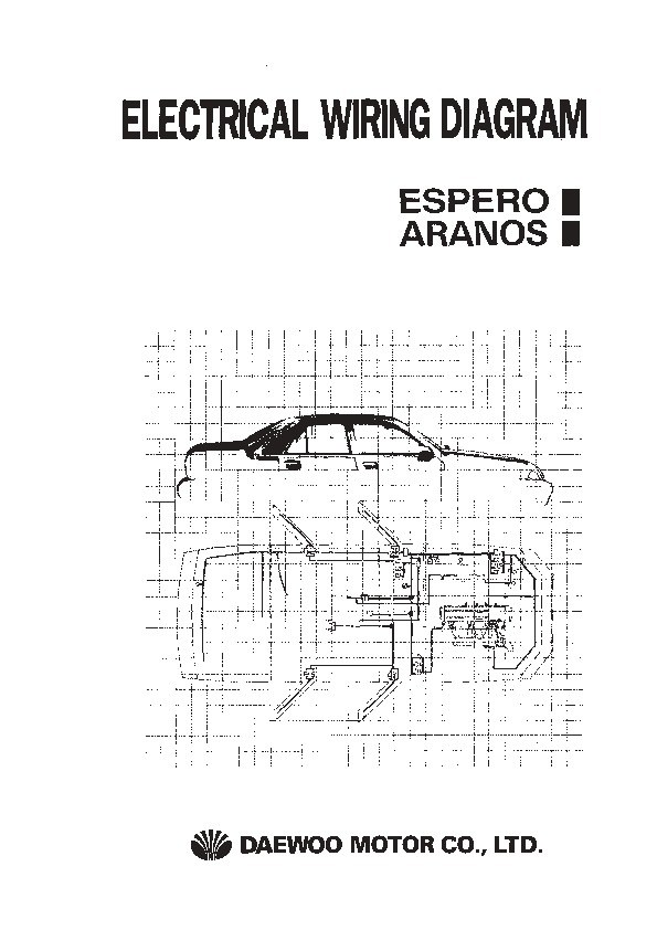 [DD_6601] Daewoo G25S Manual Schematic Wiring