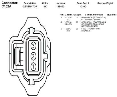 [OR_9911] Gm Alternator Parts Diagram Download Diagram