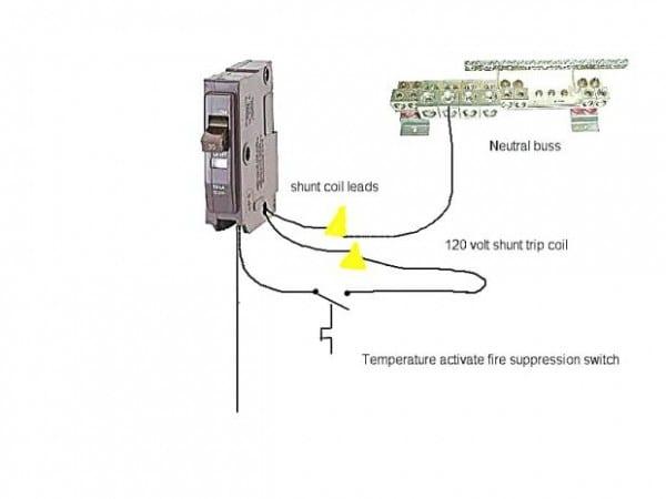 Cutler Hammer Shunt Trip Circuit Breaker Wiring Diagram