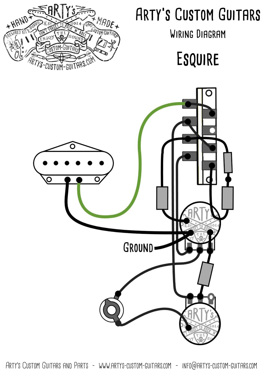 [ZH_8885] Wiring Diagram Fender Squier Free Diagram