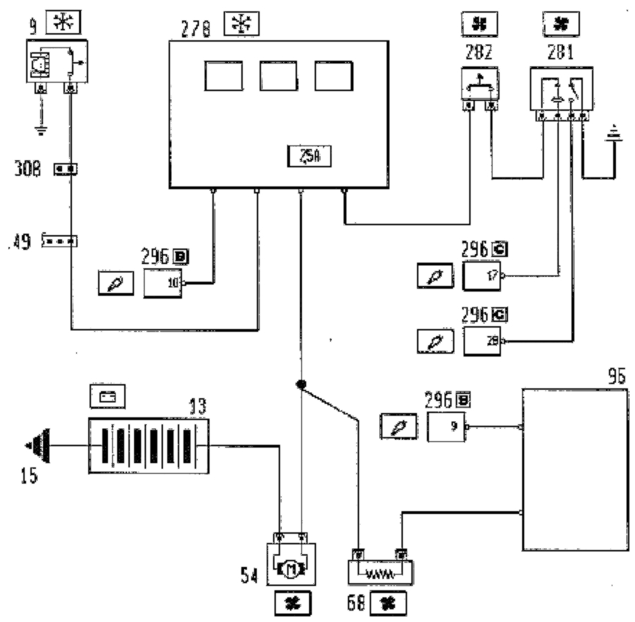 [TH_3480] Fiat Coupe Wiring Diagram Schematic Wiring