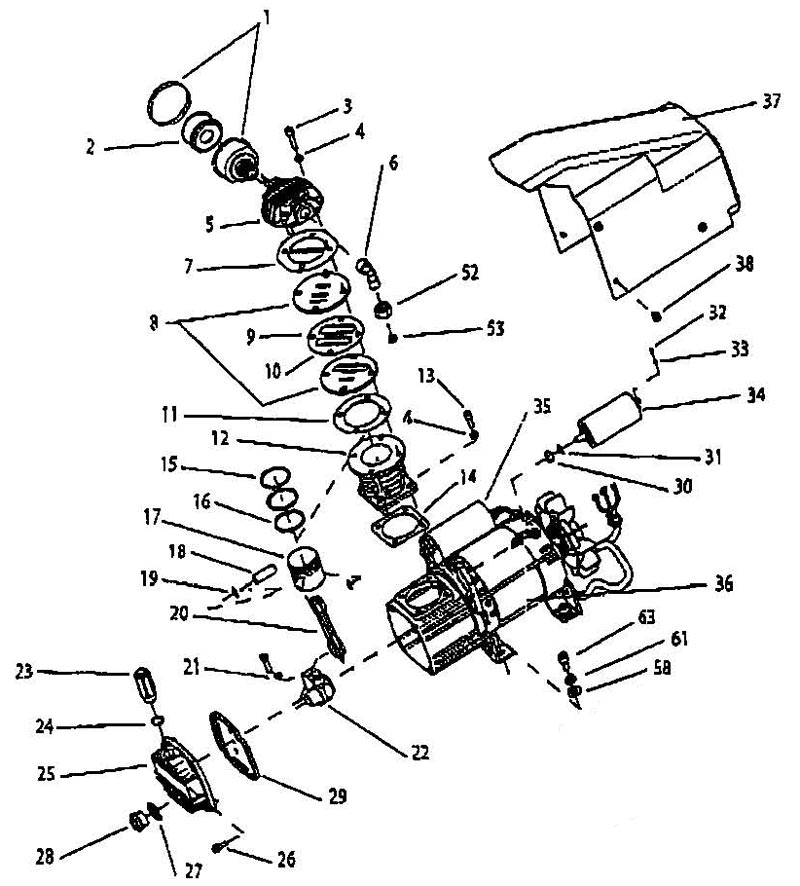 [RW_1184] Air Compressor Wiring Diagram Free Diagram
