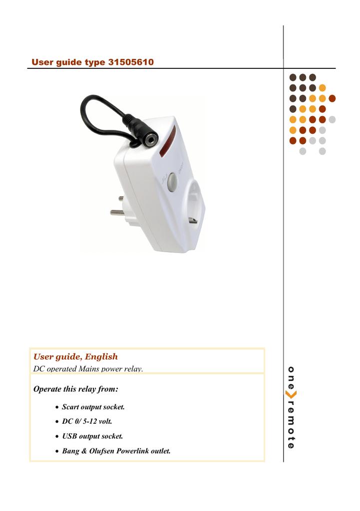 [GX_8313] Usb 12 Volt Relay Download Diagram
