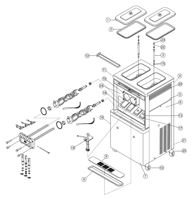 [WL_5293] Taylor Dunn 1248B Wiring Diagram Free Diagram