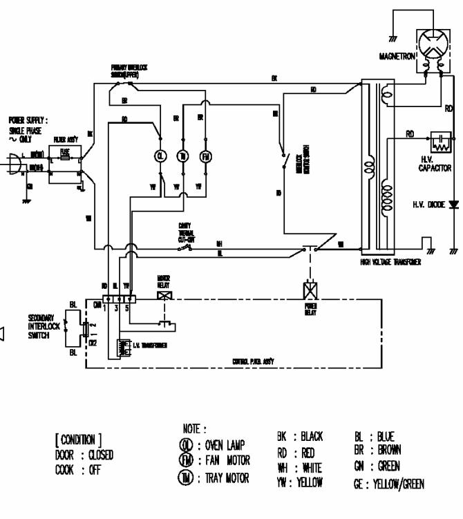 wiring diagram for ge microwave  7 round wiring diagram gm