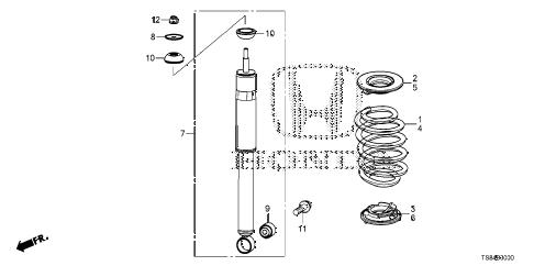 [CR_2594] Honda Civic Rear Suspension Diagram Download Diagram