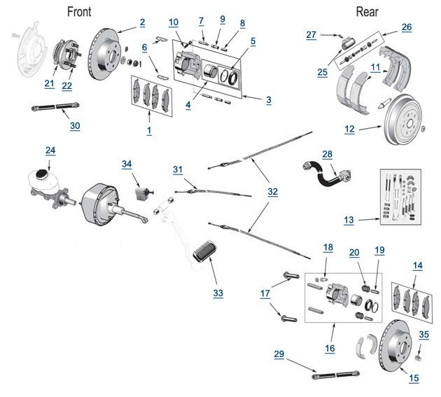 [GL_6873] Jeep Brakes Diagram Schematic Wiring