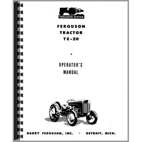[MS_7087] Ferguson Tractors 400 Series Repair Manuals