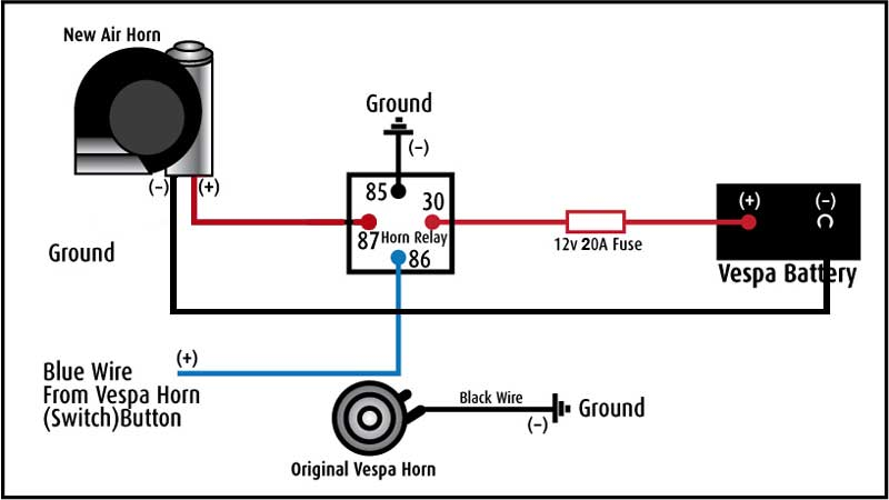 12 Volt Air Horn Wiring Diagram For Your Needs