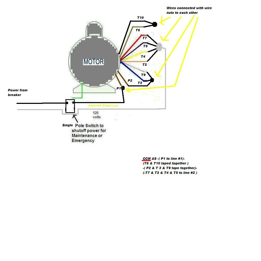 [LT_7377] Marathon 2Hp Electric Motor Wiring Diagram Free