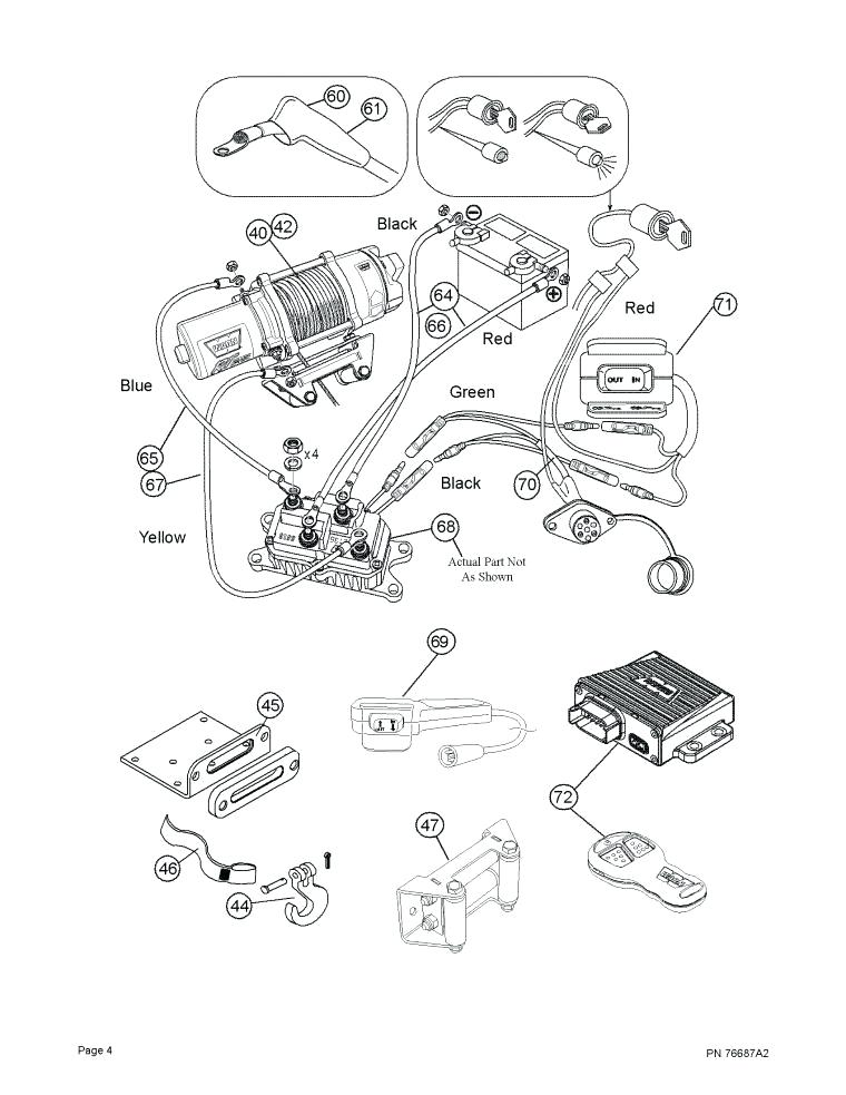 [ZR_1872] Wiring A Winch To Atv Free Diagram