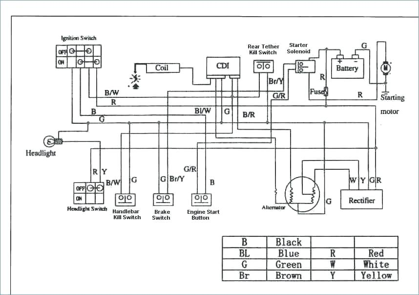 Taotao 125 Atv Wiring Diagram / Honda Xl600r Wiring