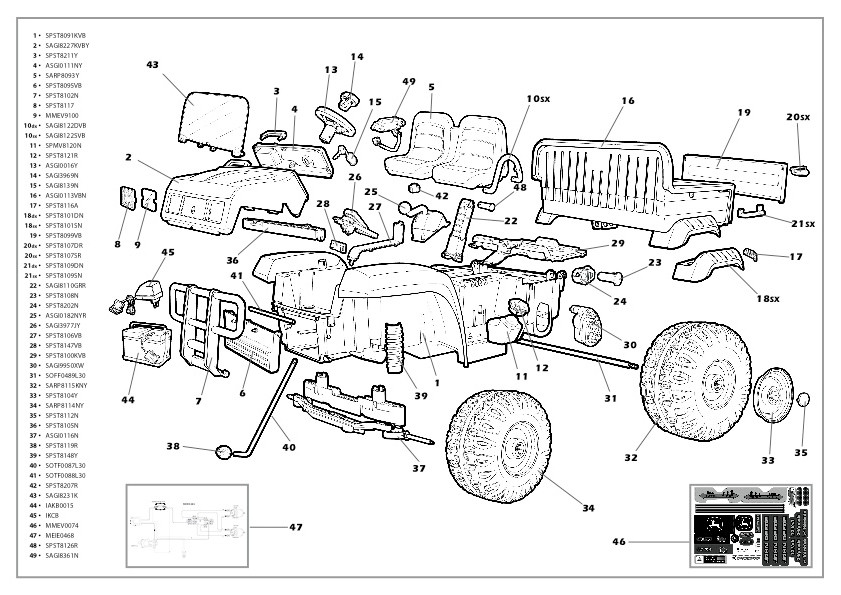 [GL_0640] John Deere Gator Fuse Box Diagram Free Diagram