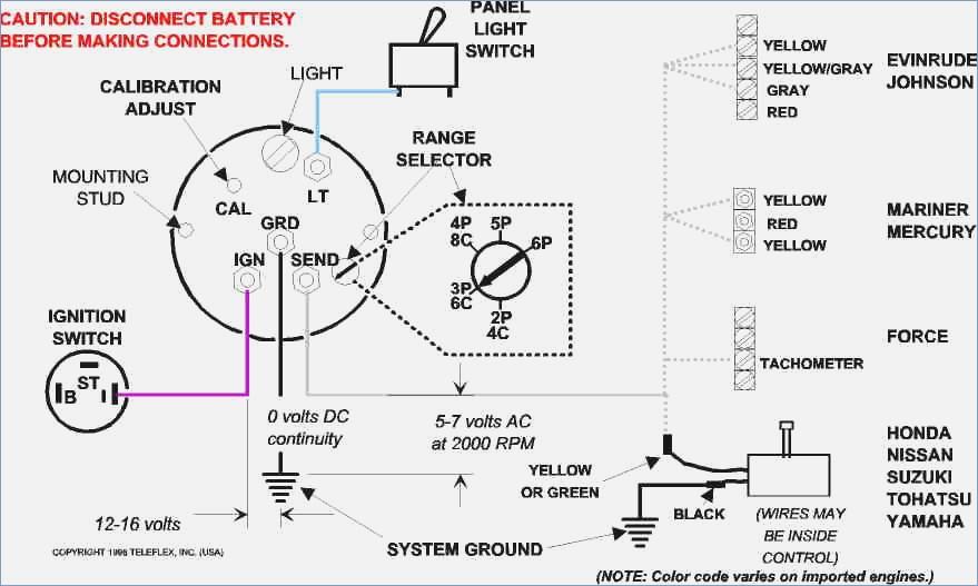 [GB_6756] Boat Tachometer Wiring Diagram Download Diagram