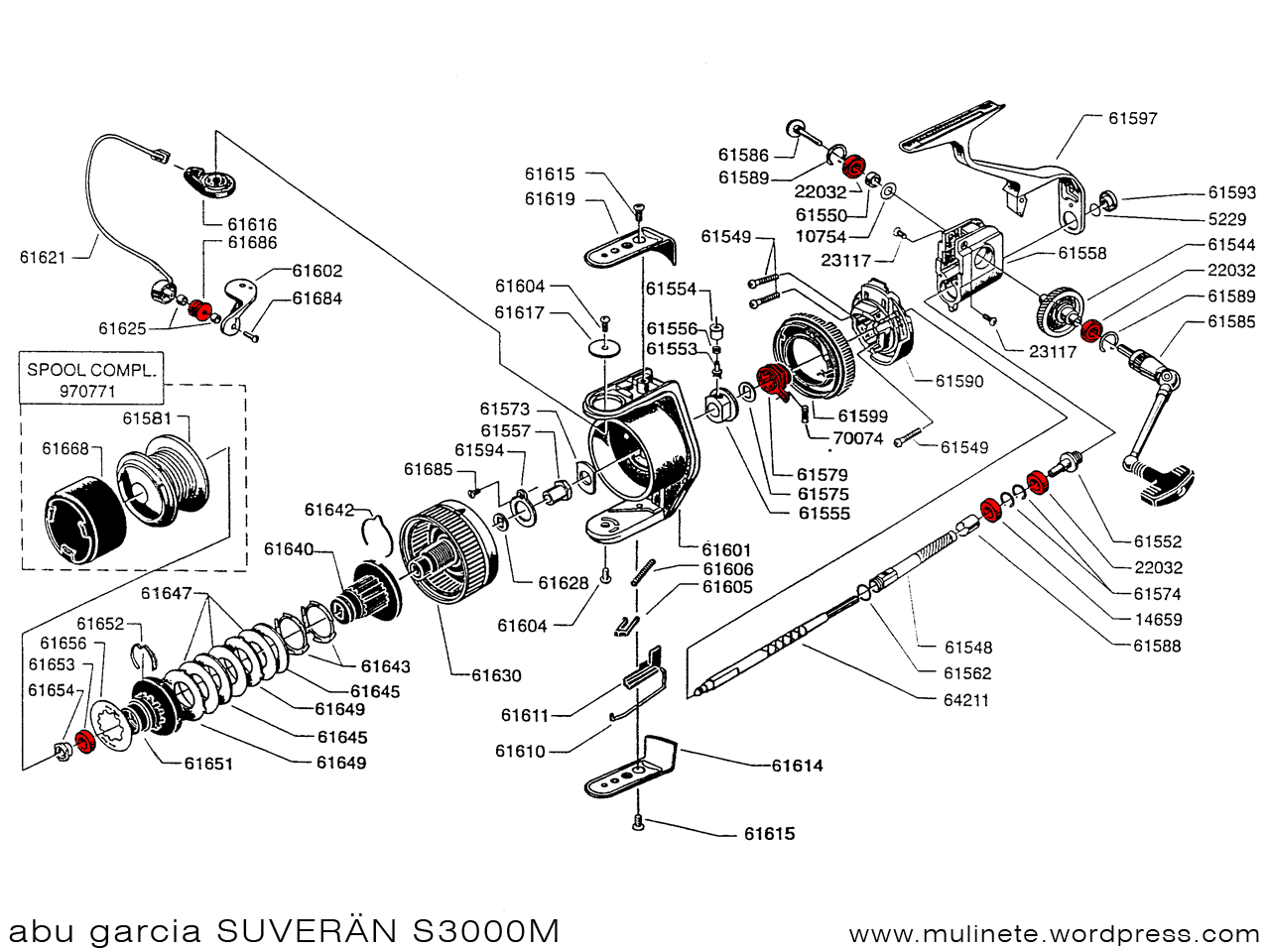 [YO_7932] Abu Garcia Schematic Diagrams Download Diagram