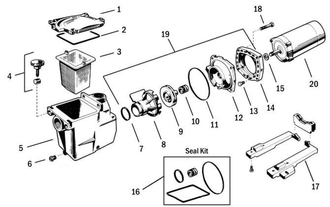 ne0256 motor parts diagram as well as hayward pool pump