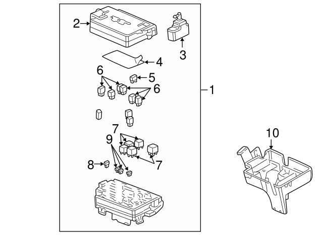 [VW_8583] 2007 Chevy Equinox Horn Relay Schematic Wiring