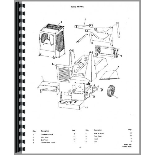 [HB_1007] Bobcat 753 Loader Diagram Download Diagram