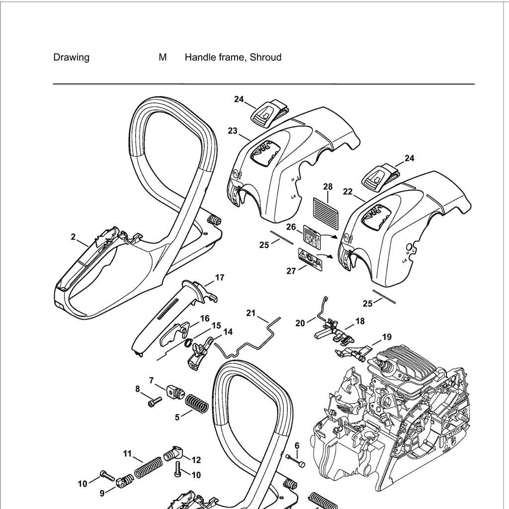 [GY_9719] Stihl 025 Chainsaw Parts Diagram Stihl Chainsaw