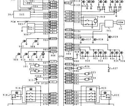 Wiring Diagram International 4900 Series / 2001