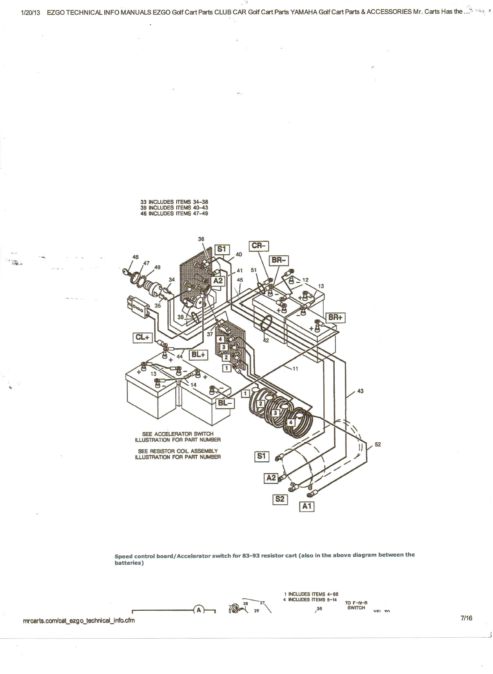[Download 41+] Ezgo Forward Reverse Switch Wiring Diagram