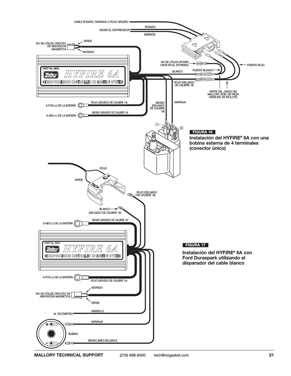 [DIAGRAM] Mallory Hyfire Ignition Wiring Diagram FULL