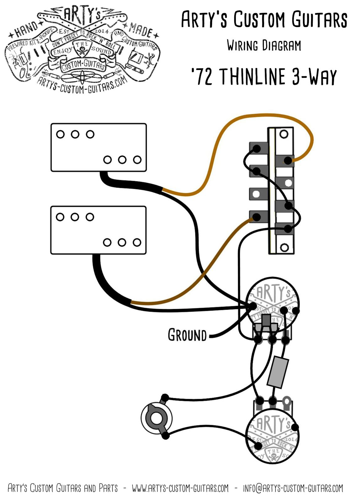 [XZ_7524] Custom Guitar Wiring Diagrams Wiring Diagram
