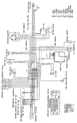 [CZ_3508] Honda Cb92 And Ca95 Electrical Wiring Diagram