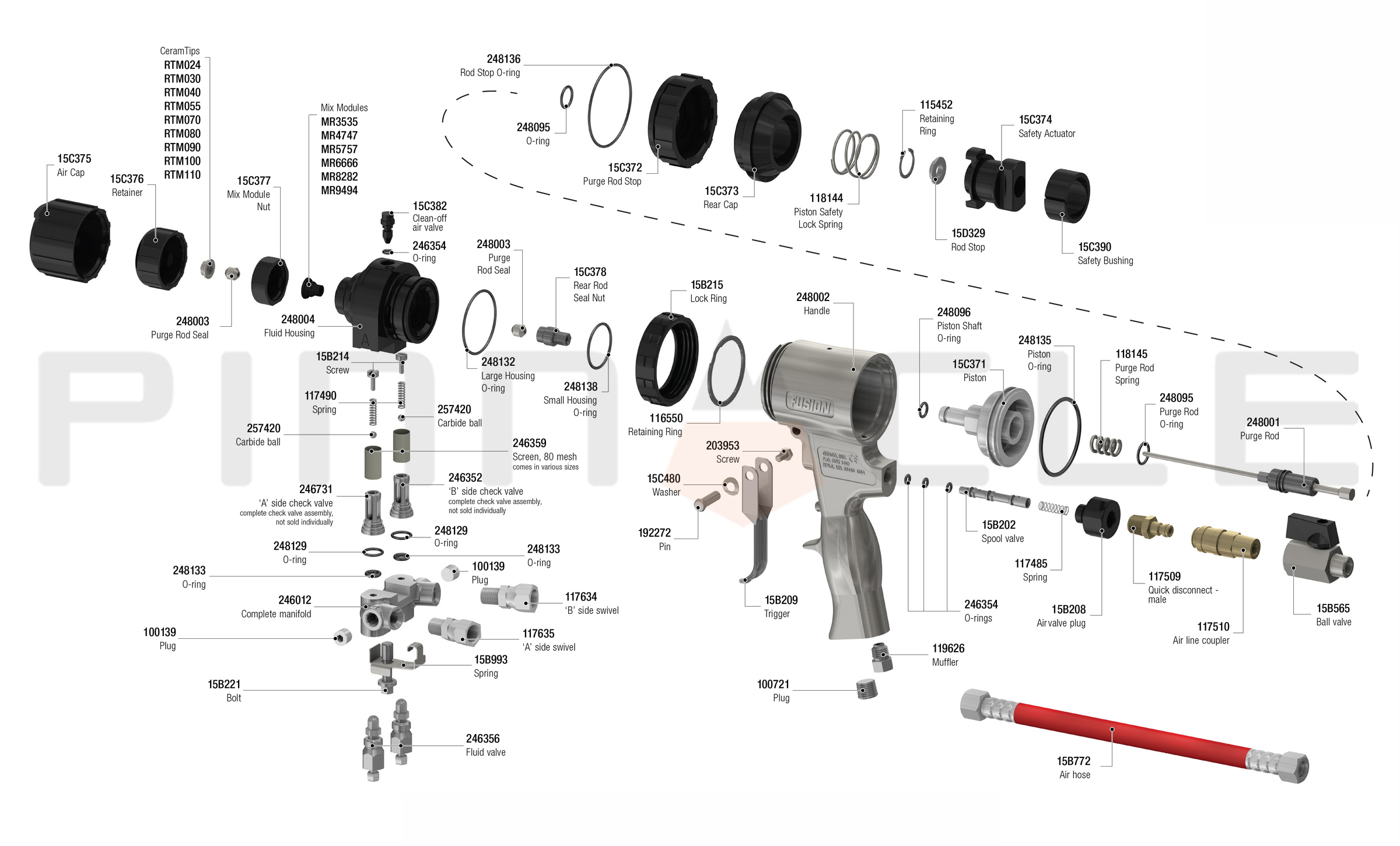 Zf Protection Gun Gun Parts Diagram Free Diagram