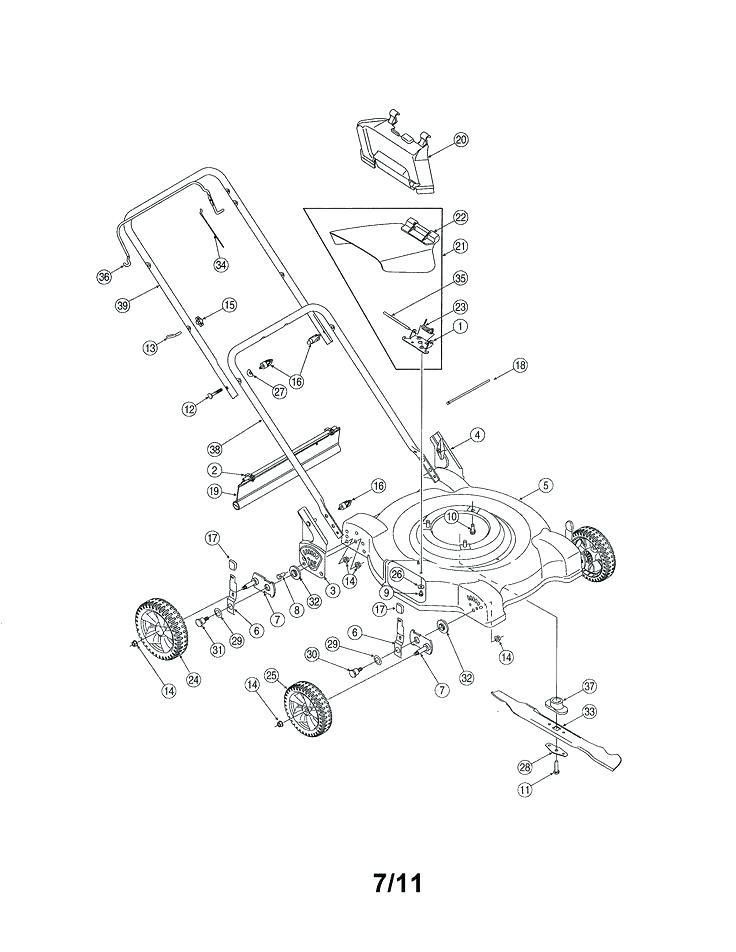 [KE_2052] That All Small Troybilt Lawn Mower Parts Mtd