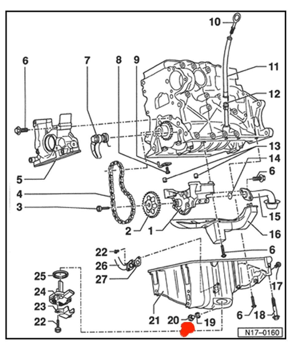 2002 Jetta 1 8T Engine Diagram : 2002 Jetta 1 8l Engine
