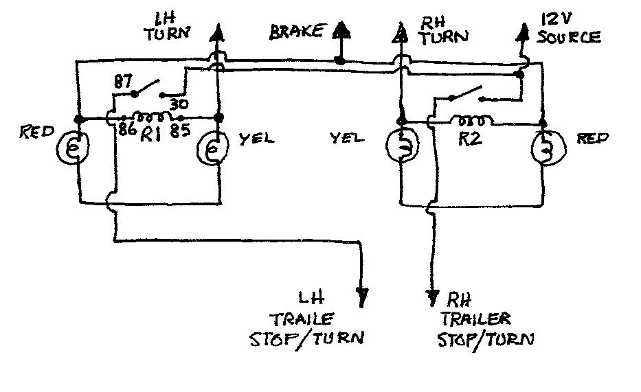 Wiring Diagram Gallery: Simple Wiring Diagram For Trailer