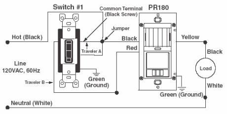 Wiring Diagram Gallery: Lutron 3 Way Motion Sensor Switch