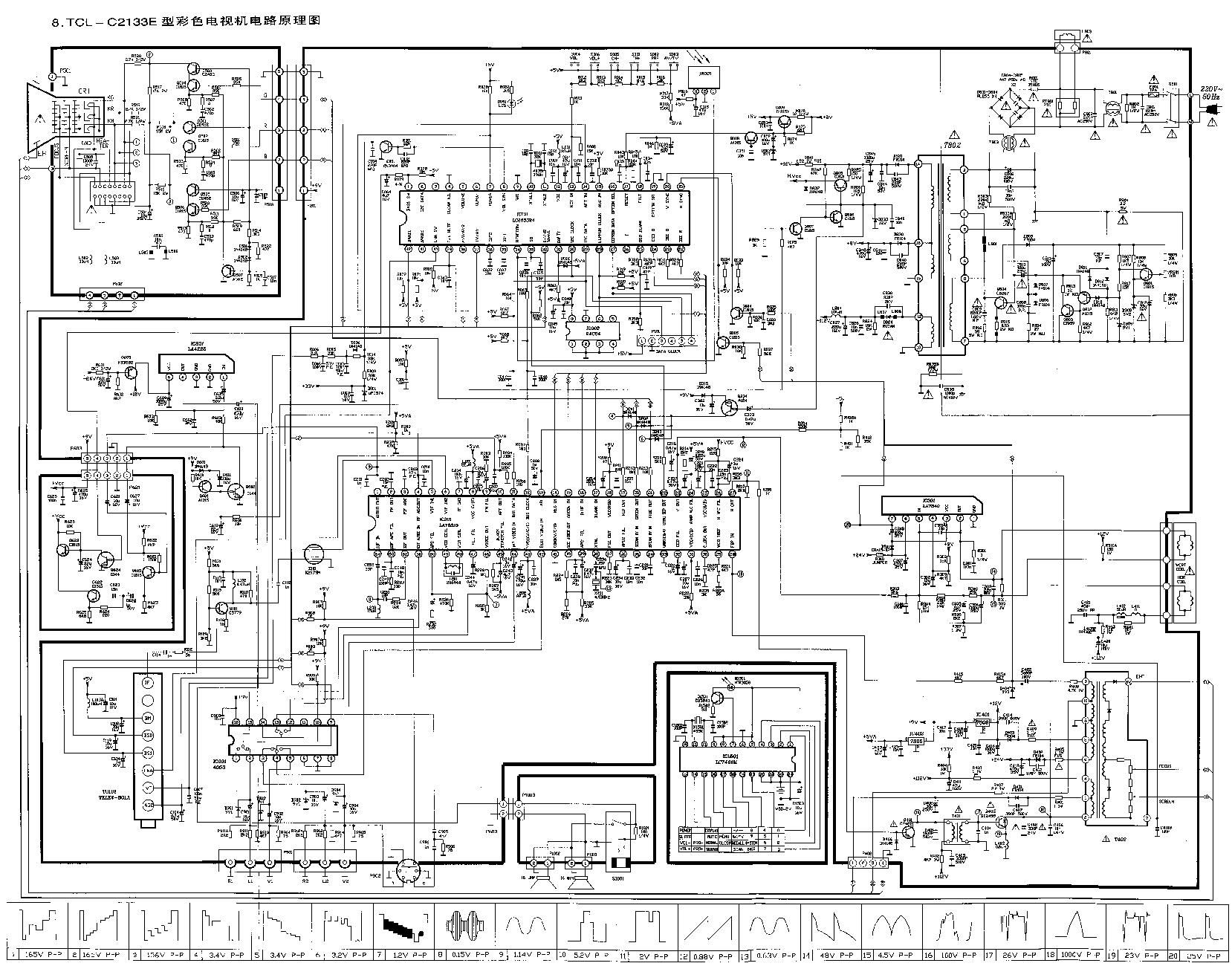 [View 39+] Crt Tv Schematic Diagram Free Download