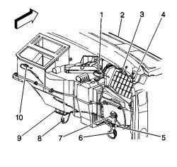 [CH_7348] Chevy Silverado Blend Door Actuator Schematic Wiring