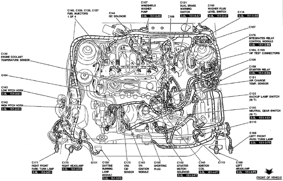 Ford Escape 3 0 Engine Diagram / 3 0 2008 Ford Escape
