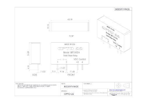 [NW_9121] Opto 22 Relay Wiring Diagram Wiring Diagram