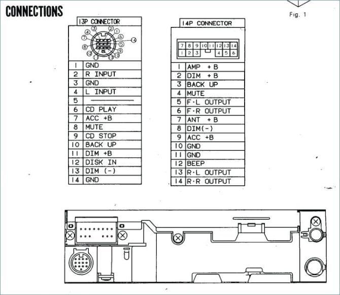 pioneer deh 14 wiring diagram  1990 c1500 brake light