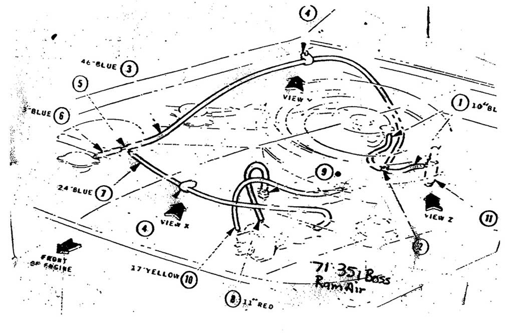 [EG_7431] 1973 Ford Vacuum Hose Diagram Download Diagram