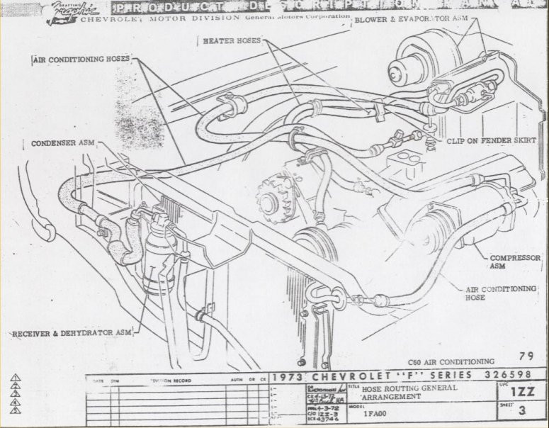 [KX_1446] 1973 Ford Vacuum Hose Diagram Schematic Wiring