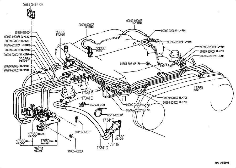 1989 Toyota Pickup Wiring Diagram / Fuse Box 89 Toyota
