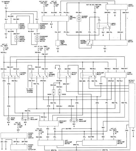 [EG_1773] Nissan Exa Wiring Diagram Wiring Diagram
