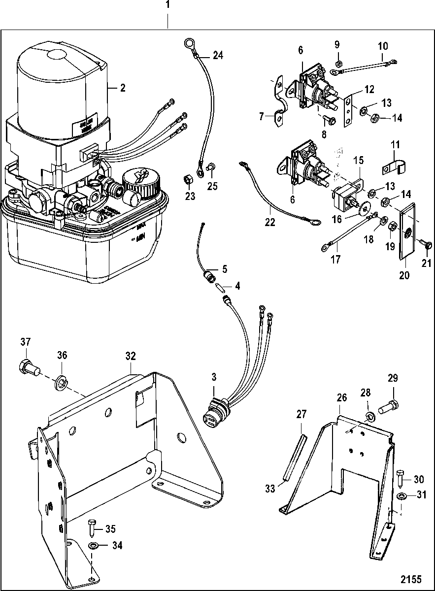 [KF_3991] Trim Pump Wiring Schematic Wiring