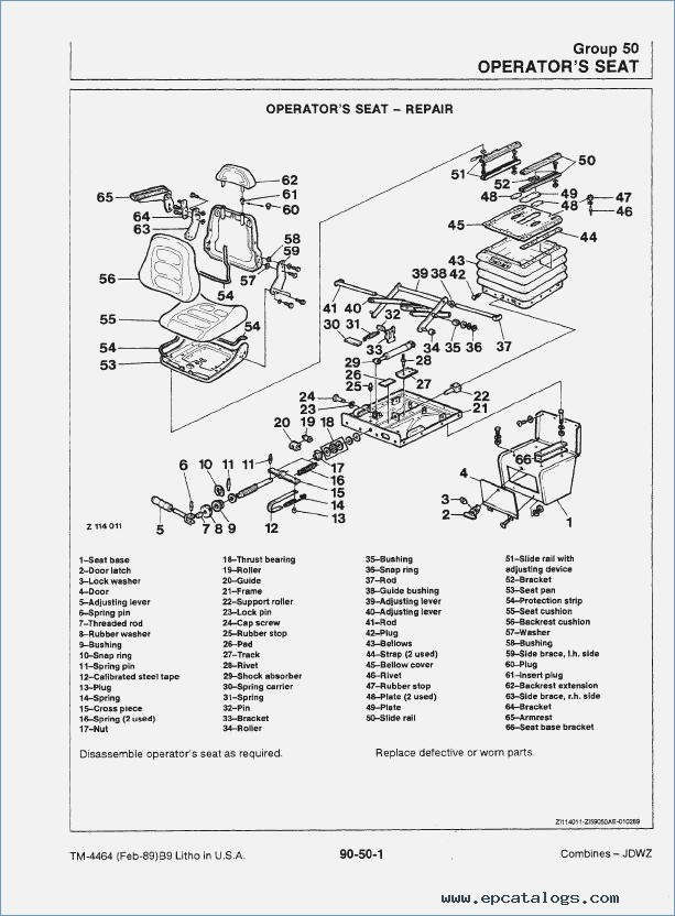 [FM_6207] Bobcat Parts Diagram 753 Schematic Wiring