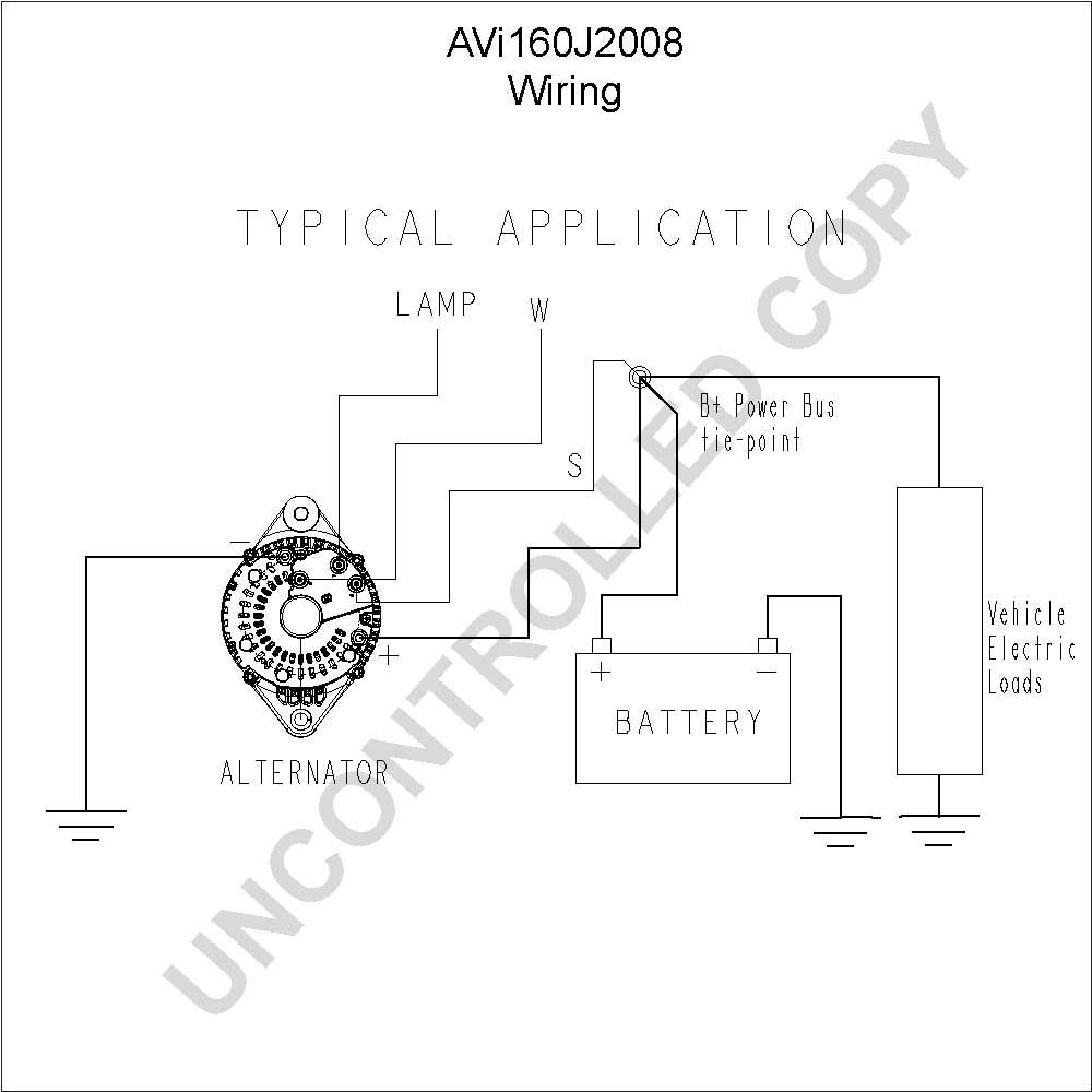 Alternator Wiring Diagram Pdf / Wiring Diagram Symbols