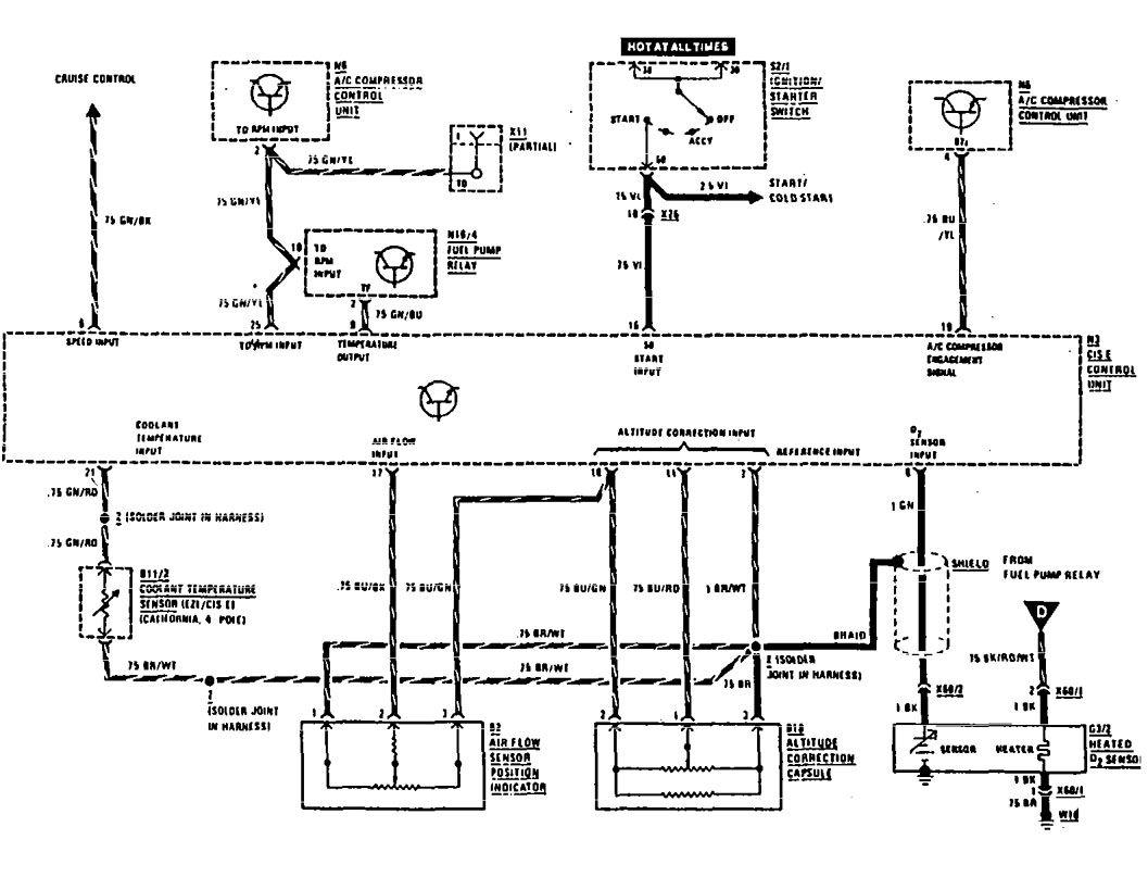 [HY_3371] Mercedes Benz M117 Engine Mercedes Circuit