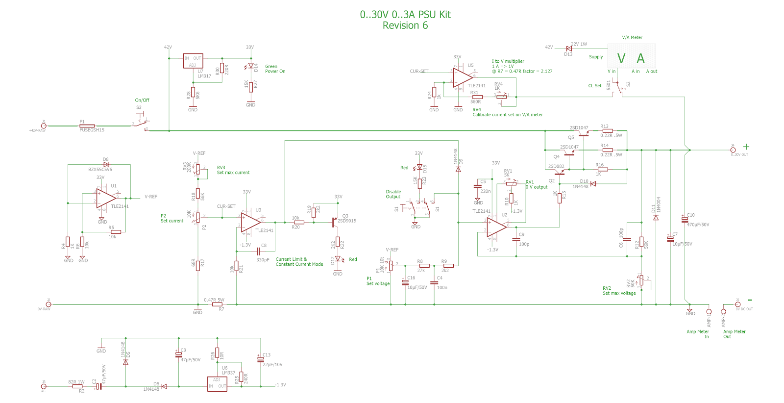 [GD_5992] 4 Th Order Filter Circuit Schematic Using Tl081