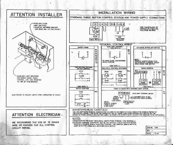 genie pro garage door opener wiring diagram full hd quality