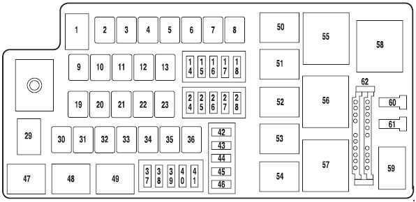 2007 Ford F150 Xlt Fuse Box Diagram : Ford F150 Xlt Fuse